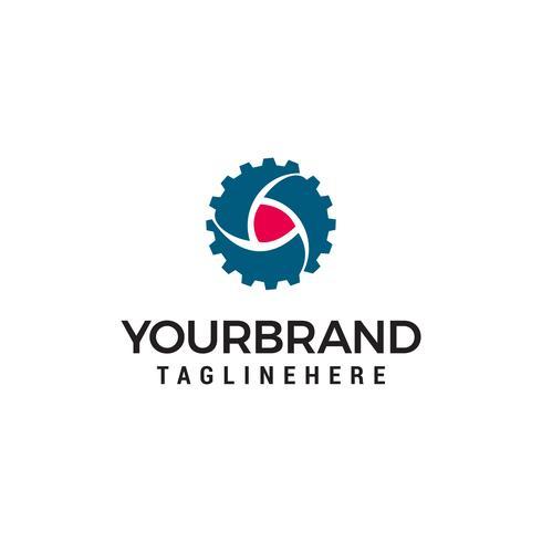 växel spel Logo mallar design