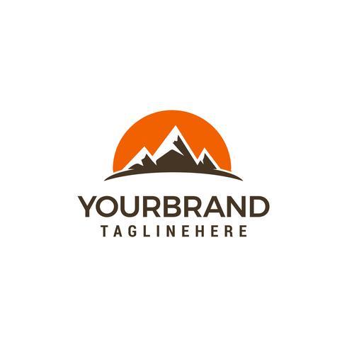 Modello di progettazione di logo di viaggio di turismo vettore