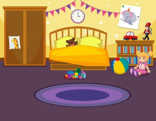 Inredning av barns sovrum