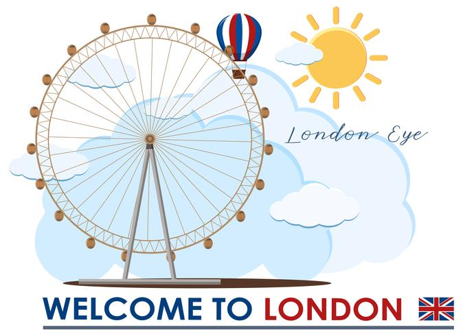 Inglaterra London Eye Travel Marco