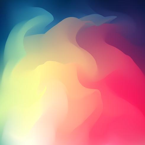 Resumo criativo fluido multicolorido turva fundo