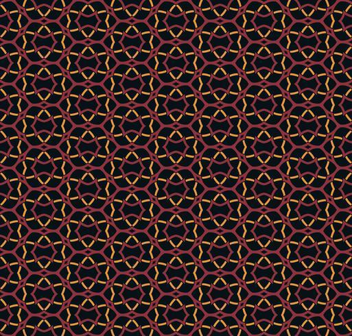 Padrão de ornamento sem costura árabe. Padrão decorativo ornamental