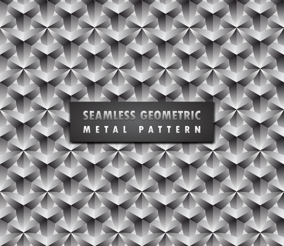 moderner geometrischer nahtloser Hintergrund 3d.