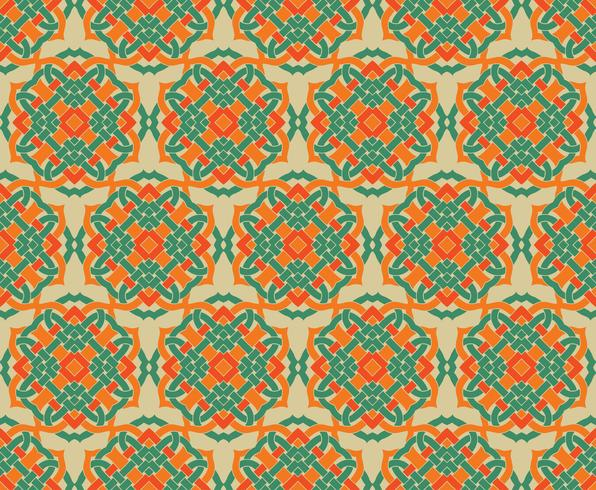Arabic seamless ornament pattern. Ornamental decorative pattern  vector