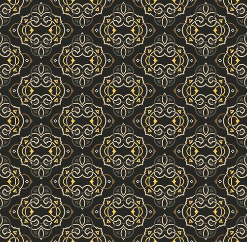 Arabic seamless ornament pattern. Ornamental decorative pattern