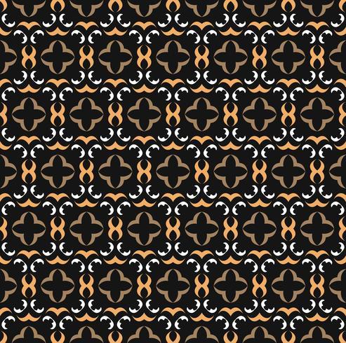 Fondo de patrones sin fisuras ornamento simple