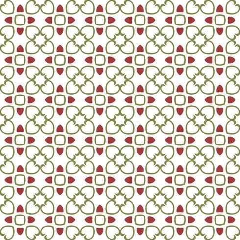 Floral Tiles Seamless Vector Pattern.flower Geometrische textuur pa