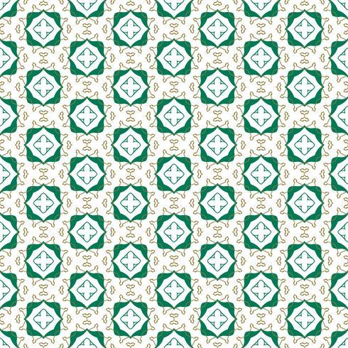 Ilustración de vector de patrón de ornamento transparente