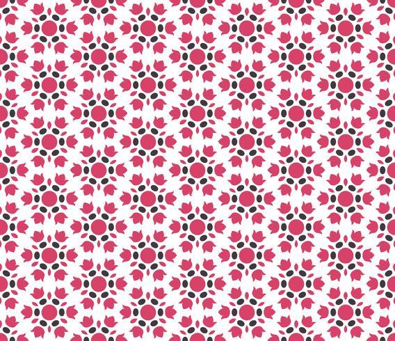 Abstract naadloos ornamentpatroon. Vector illustratie.