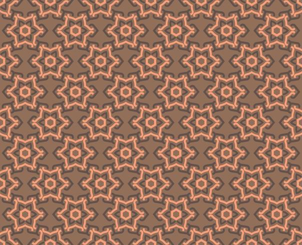Dekorative Symmetrien des nahtlosen Musters, Verzierungsmustervektor