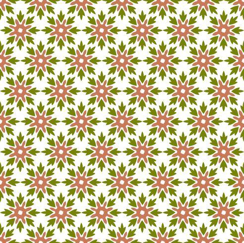 Struttura geometrica senza cuciture di vettore di Pattern.flower delle mattonelle floreali
