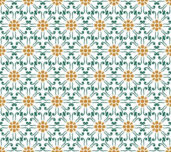 fondo senza cuciture floreale del fiore geometrico