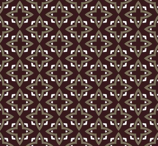 nahtlose Verzierungsmuster-Vektorillustration
