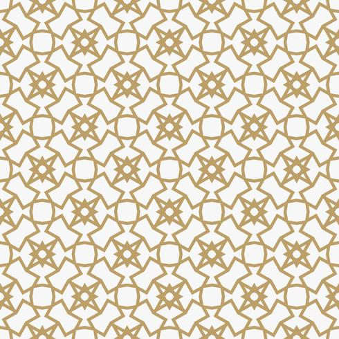 Abstract geometric decoration pattern with lines. A seamless vec