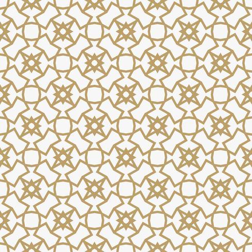 Abstract geometrisch decoratiepatroon met lijnen. Een naadloze vec