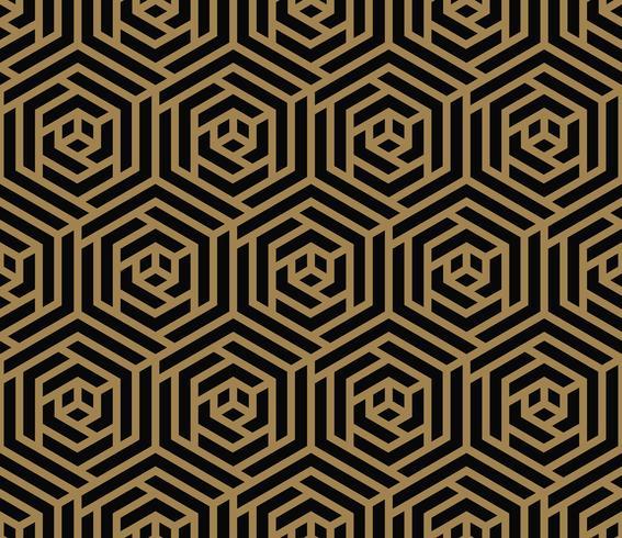 Moderne luxe stijlvolle geometrische texturen met lijnen naadloze pat