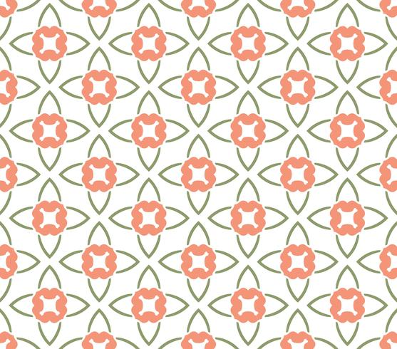 Vector bloemen naadloos patroon, vector die textuurbackgro herhalen