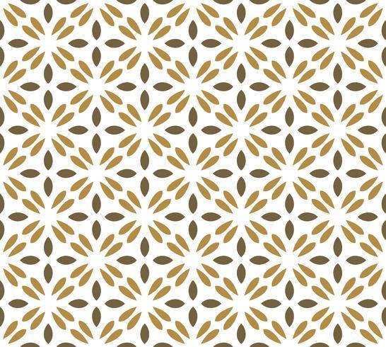 Naadloos abstract bloemenpatroon. symmetrie moderne stijl