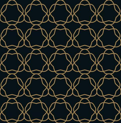 Patrón sin costuras Adorno de líneas gráficas. Fondo floral con estilo vector
