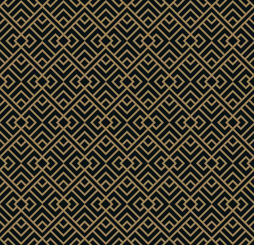 Modèle sans couture de vecteur. Fond géométrique avec losange. Abst vecteur