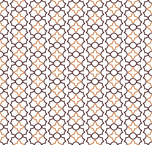 Fondo geometrico senza cuciture astratto con le linee, orien