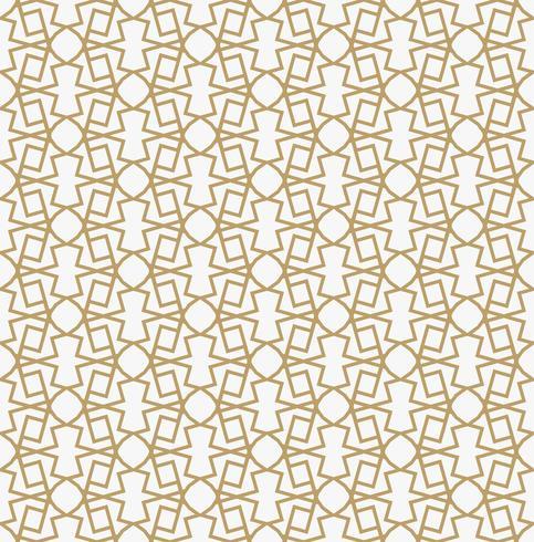 Patrón de decoración geométrica abstracta con líneas. Un vec sin fisuras