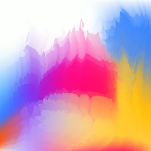 Fondo vago multicolore fluido astratto creativo