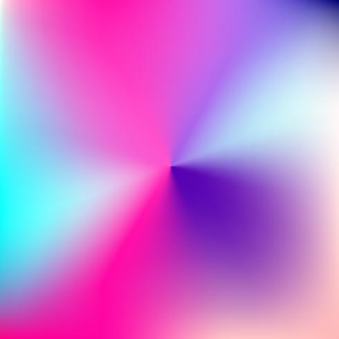 Origens borradas radiais coloridas abstratas do vetor. vetor