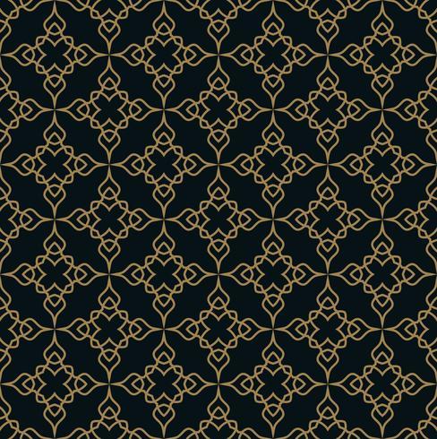 Modèle sans couture. Ornement de lignes graphiques. Backgro élégant floral