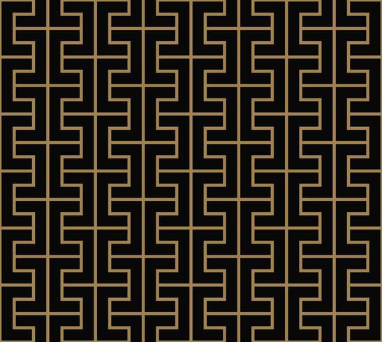 motivo geometrico senza soluzione di continuità dalla linea a strisce. Bac vettoriale senza soluzione di continuità