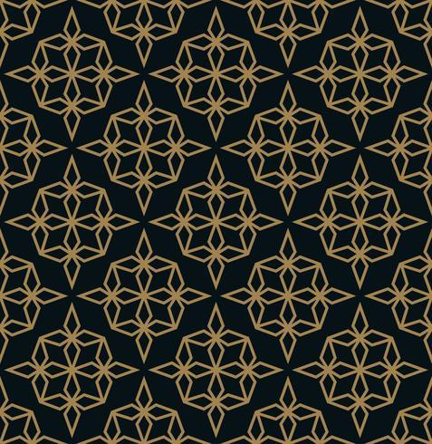 Modèle sans couture avec ornement de ligne. Abstrait géométrique moderne v vecteur