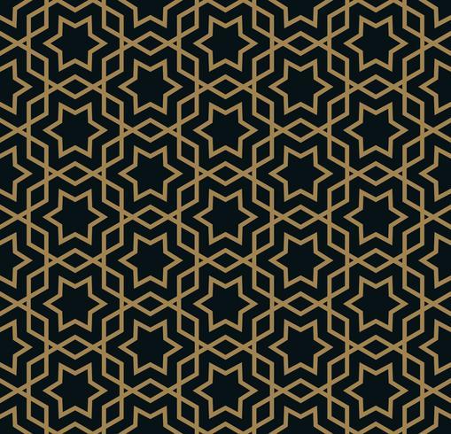 Vektor nahtlose Muster. Moderne stilvolle abstrakte Textur. Wiederholte geometrische Fliesen aus gestreiften Elementen
