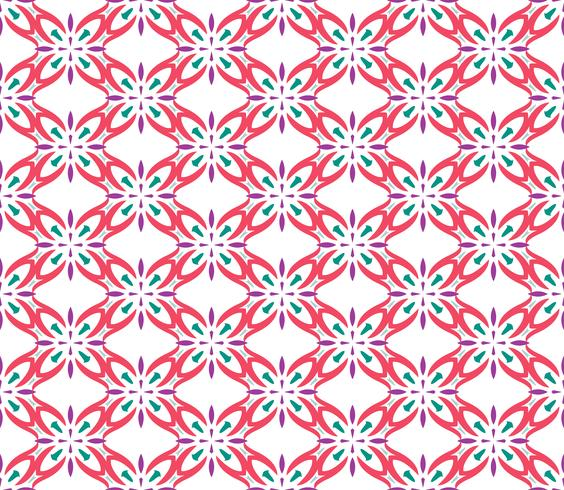 Fondo simple abstracto inconsútil ornamento patrón