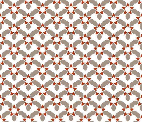 Motivo floreale astratto senza soluzione di continuità. simmetria stile moderno