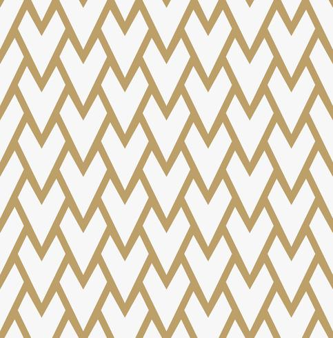 Abstraktes geometrisches Muster mit Linien. Ein nahtloser Vektor backgro