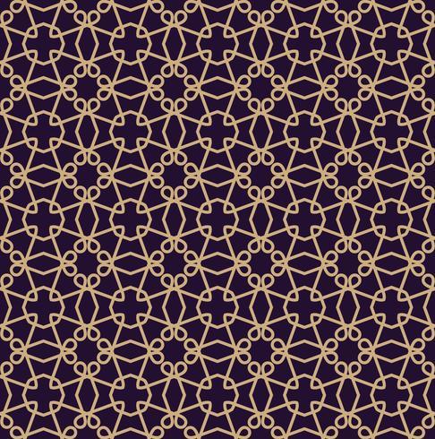 Padrão sem emenda de vetor. Textura elegante moderna. Ornamento linear geométrico.