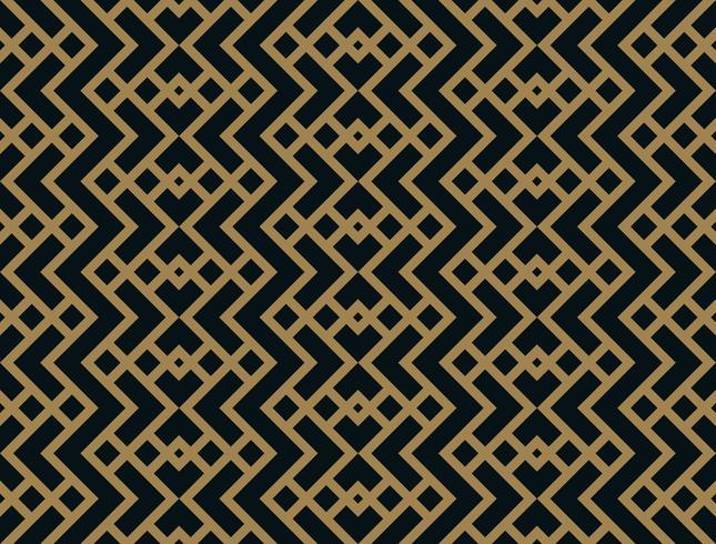 Modello geometrico astratto rombo con linee. vettore modello senza saldatura con colore oro.