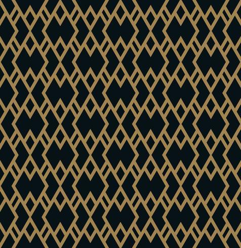 Vector seamless pattern. Modern stylish texture. Geometric strip