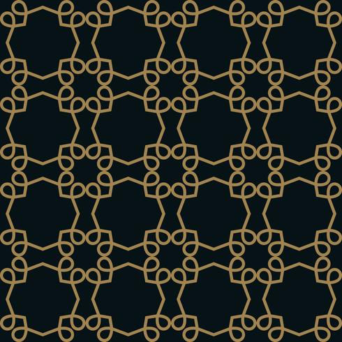 elegante Linie Ornament Muster nahtlose Muster für Hintergrund, w