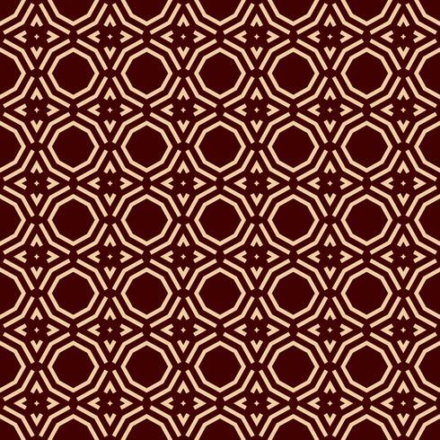 Luxury Geometric Pattern. Vector seamless pattern. Modern linear