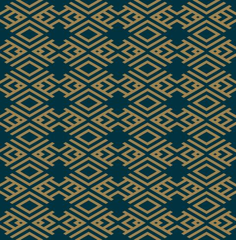 Abstract geometric pattern with lines, rhombuses A seamless vect