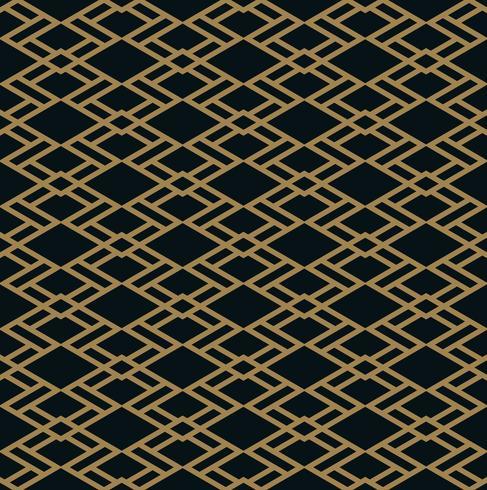 Modèle sans couture de vecteur. Texture élégante moderne. Bande géométrique