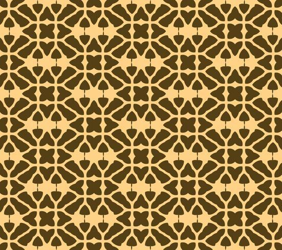 Art deco sömlös mönster bakgrund, antik stilig prydnad, v vektor