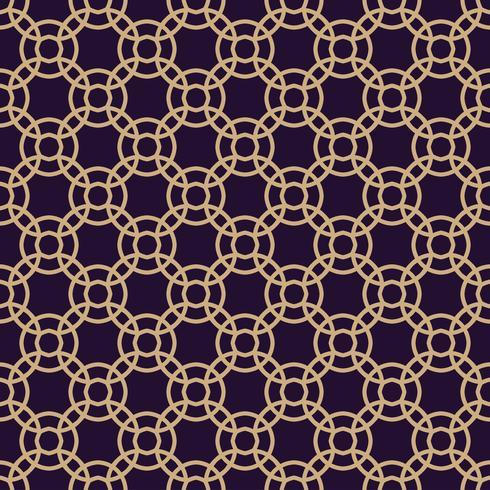 Modèle sans couture de vecteur. Texture élégante moderne. Ornement linéaire géométrique.