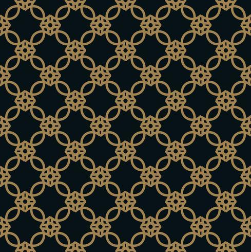 elegante linha ornamento padrão sem costura padrão para fundo, w