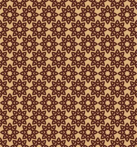 geometrische Blume nahtlose Blümchenmuster Hintergrund