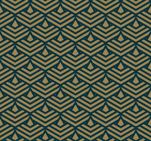 Abstract geometric pattern with lines, rhombuses A seamless vect vector