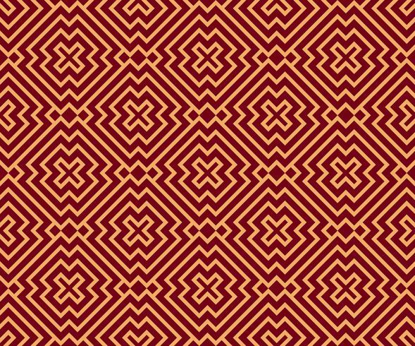 Ornamento inconsútil del vector. Moderno y elegante patrón geométrico lineal