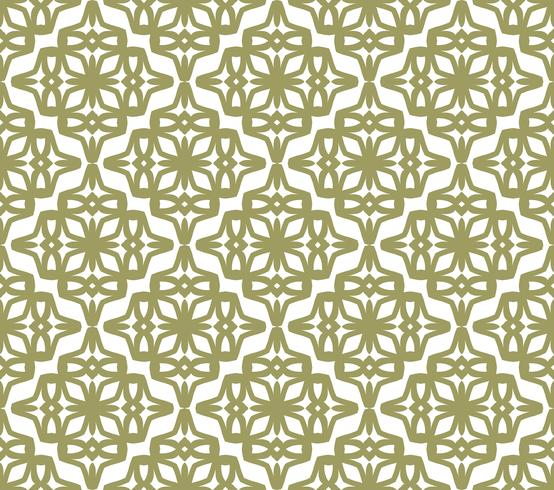 Art deco seamless pattern background, antique stylish ornament,v vector