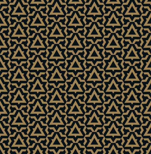 Vector naadloos patroon. Moderne stijlvolle textuur. Herhalende geometrische tegels van gestreepte elementen